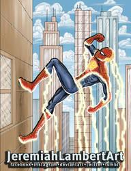 Spider-Flash by JeremiahLambertArt
