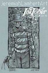 Freddy Krueger - Inktober 2015 Day 10 by JeremiahLambertArt