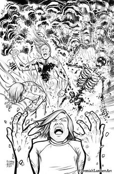 ManBomb #1 Cover INKS