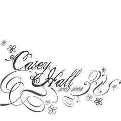 Casey Hall T-Shirt Design