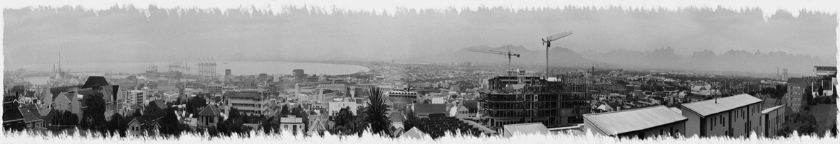 Cape Town Skyline by braticus