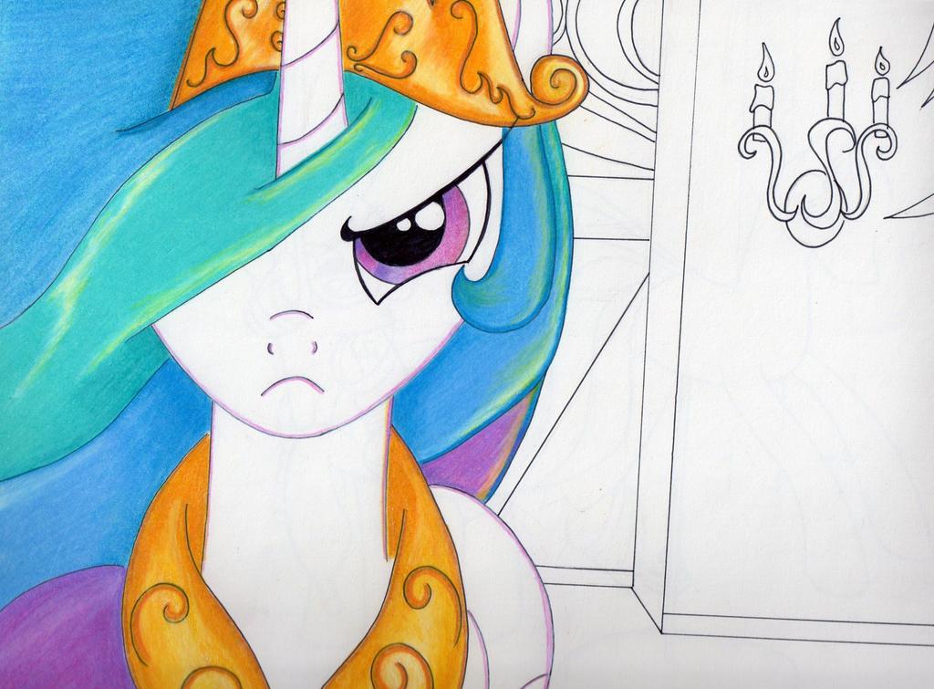 Angry Princess Celestia Princess Celestia Angry