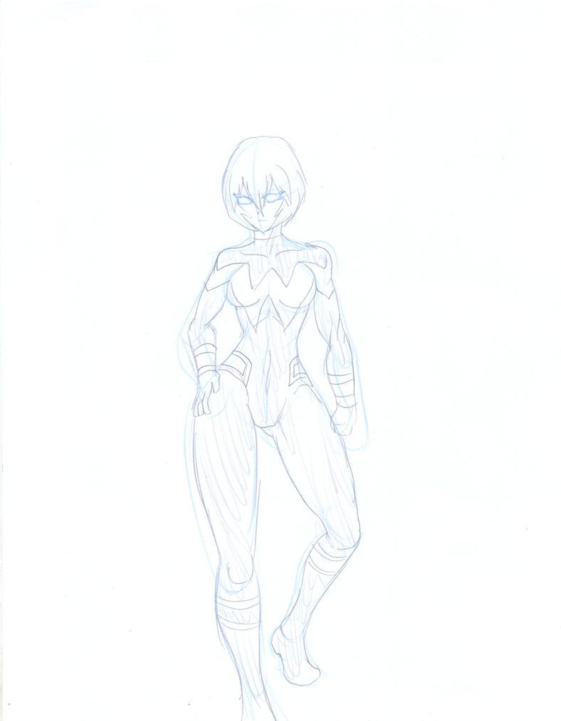 Rei Ayanami Williams: Wonder Woman by marcoasalazarm