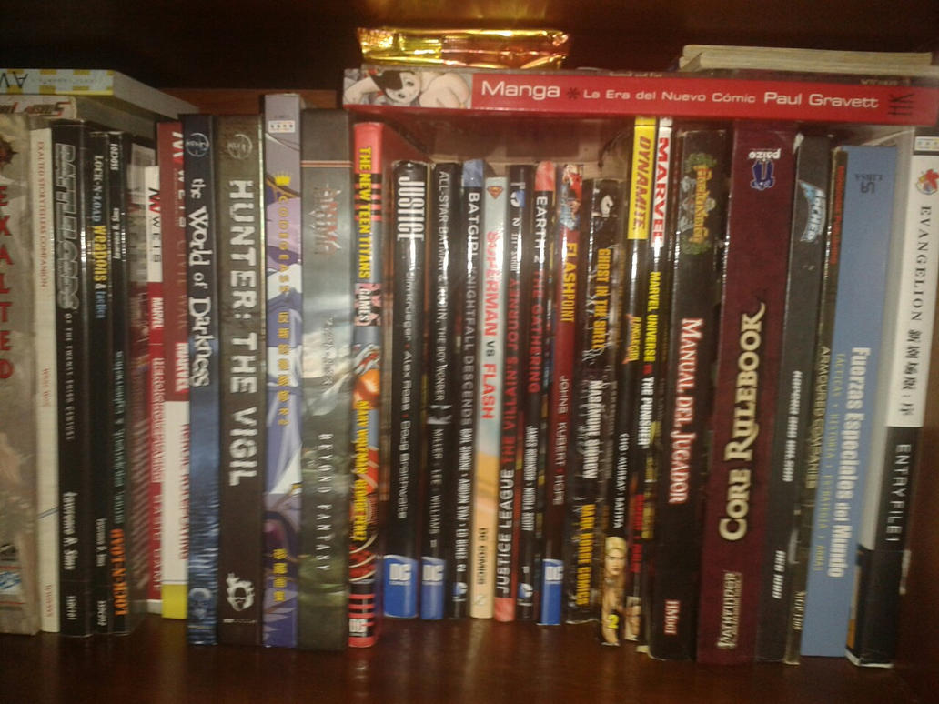 My complete RPG collection, Pt. 3 by marcoasalazarm