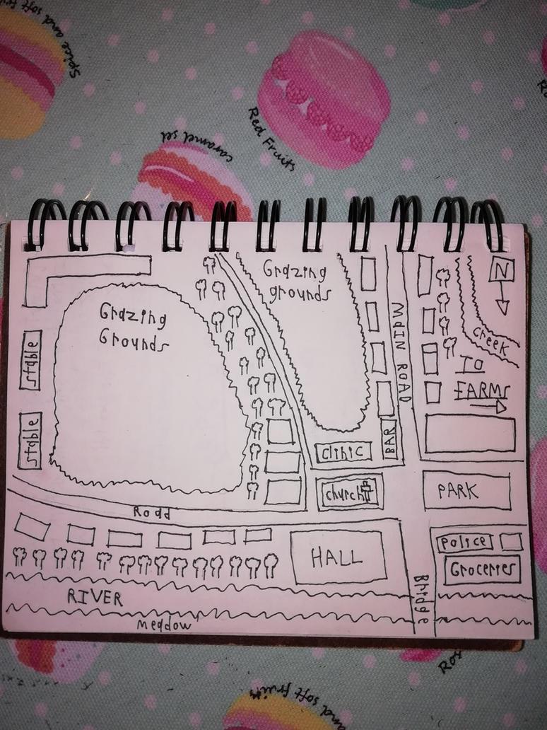 OSR Art - Map - Farm Town by marcoasalazarm