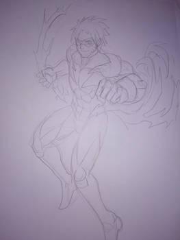 CORELINE: Naruto Uzumaki, Orange Lightning