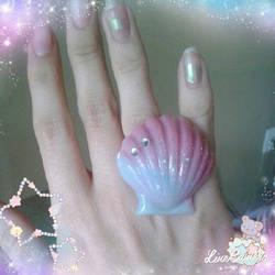 Mermaid Seashell ring
