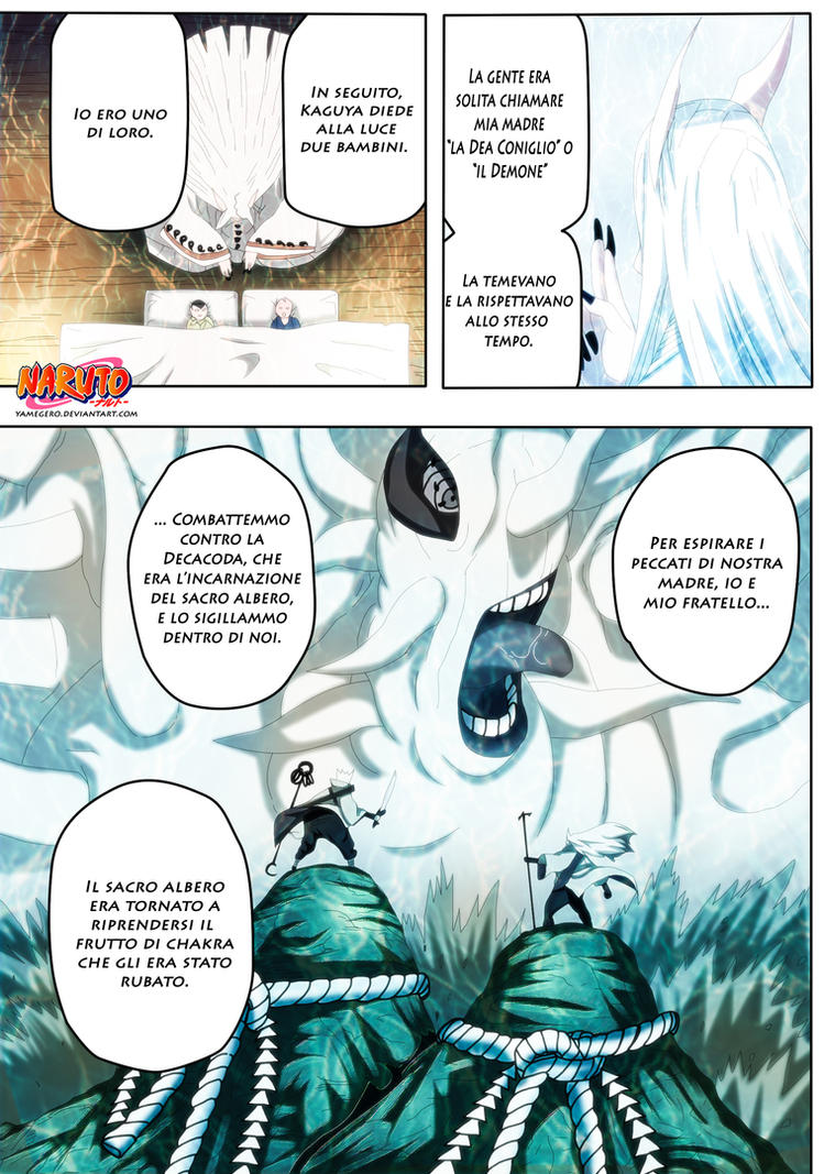 Naruto 670 : Kaguya and Her Sons by YameGero