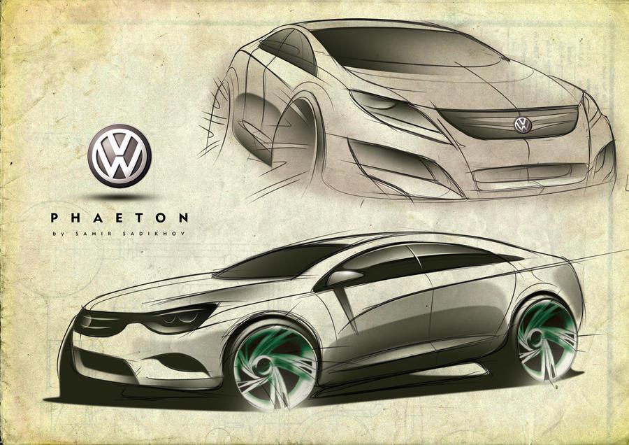 VW Phaeton 1. by Samirs