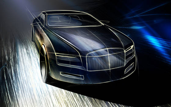 Rolls Royce sketch