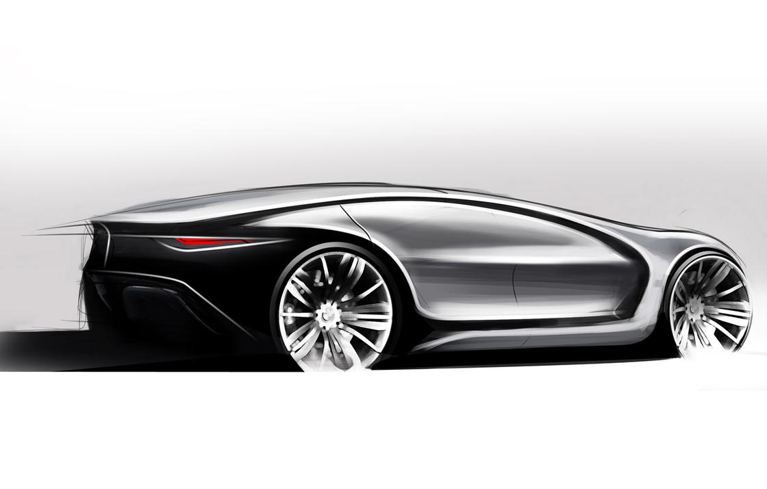 BMW Caizen Sketch by Samirs