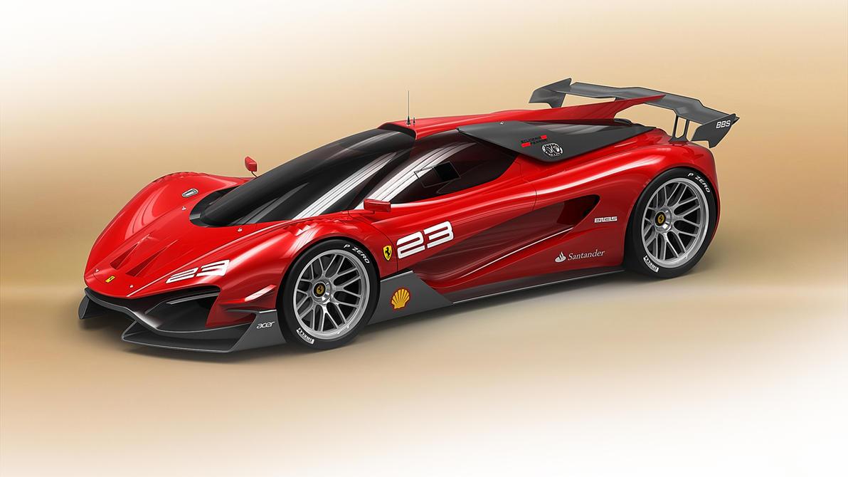 Ferrari Xezri Competizione By Samirs ...