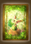 Leafeon~ Forest Tarot