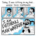 Dothraki Man Warrior