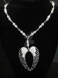 Crystal Wings Necklace