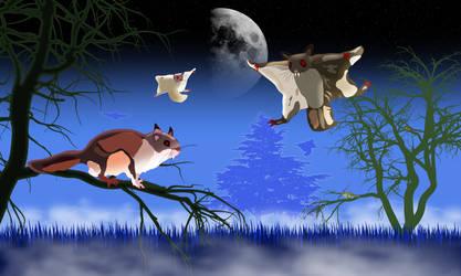 The Flying Squirrels of Nosferatu