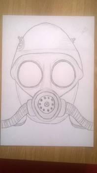 Nazi anti-gas helmet