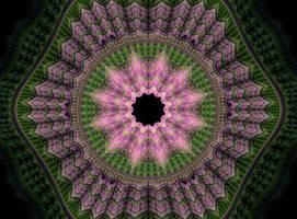 Flower Hexagon by heavenly-roads