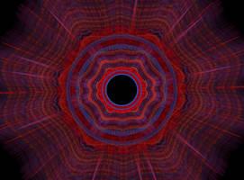 Mandala from Cyberspace by heavenly-roads