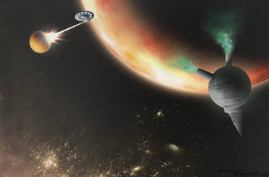 Cosmic Engines - Outbreak by heavenly-roads