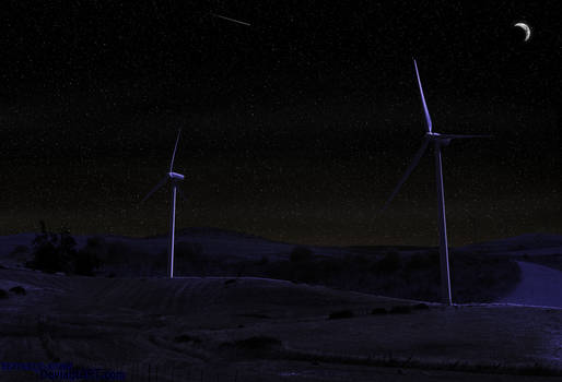 Night Windmills