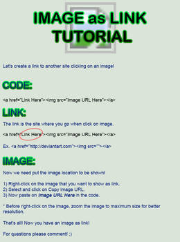 Image as Link Tutorial