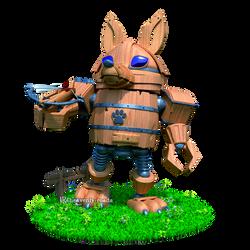 Woody Fox - Full body preview