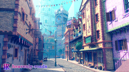 Talender City (WIP) by heavenly-roads