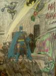 Batman:Showdown (colored) by dhbraley