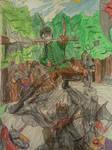 Riordan vs the Ogres by dhbraley