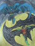 Batman and Robin (before New 52) by dhbraley