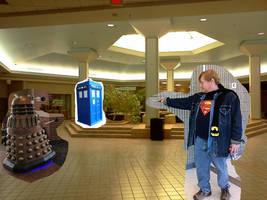 Doctor Who-The Dalek in the Mall (very WIP)