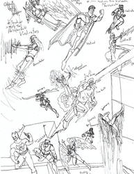 Halfmask Comics 5-6: The Vindicators by dhbraley