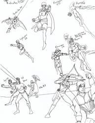 Half Mask Comics 6-6: The Teen Vindicators by dhbraley