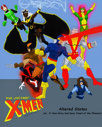 X-Men: Altered States (80's) by dhbraley