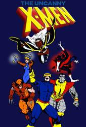 The Uncanny X-Men (Arcade Version)- More Color by dhbraley