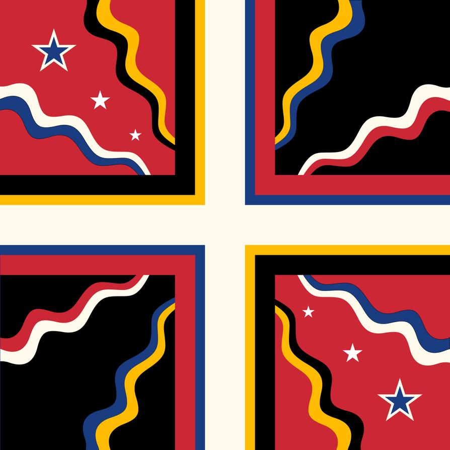 Flag of Cisalpine Confederation (OB5/AH) by Tonio103