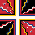 Flag of Cisalpine Confederation (OB5/AH)