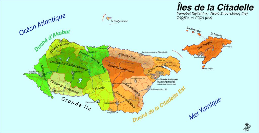 Citadelle Islands / Iles de la Citadelle by Tonio103