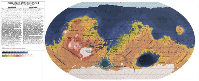 Mars - Dawn of the Blue Period