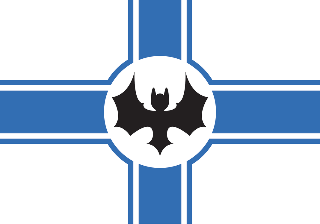 Athonia Flag : the Vigilant Bat by Tonio103