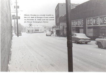 Home town in the 50's