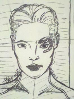 Seven of Nine - A Sketch