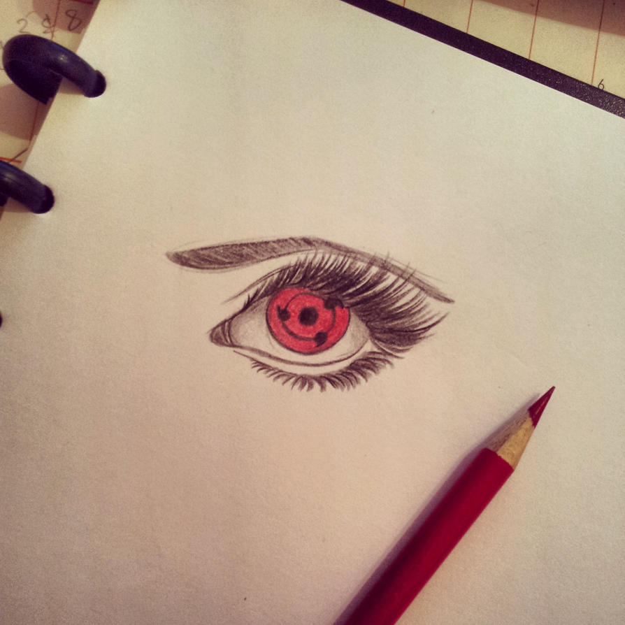 Naruto Sharingan Eyes Naruto Sharingan Eye Drawings