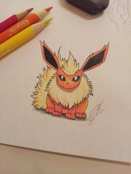 Flareon drawing