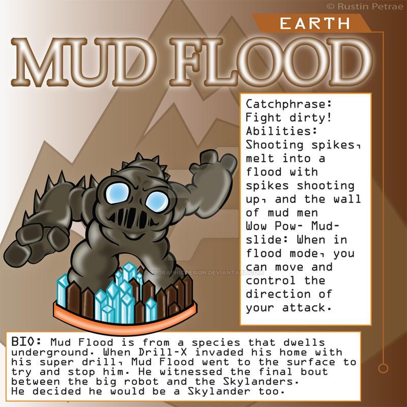 Skylander Concept Art: Mud Flood Earth Element By ...