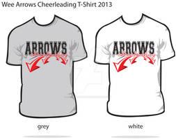 2013 Arrows Cheer Design on TShirts 2