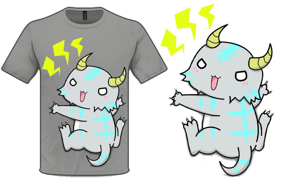 Thunder demon hug by Otamegane