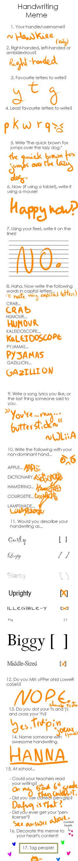 .:Handwriting meme:.