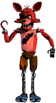 Ignited Funtime Foxy by maskedmansubscribe on DeviantArt |Ignited Foxy Full Body
